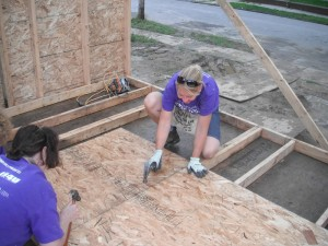 Women's Build Volunteers