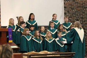 Children's Choir, Christmas Eve