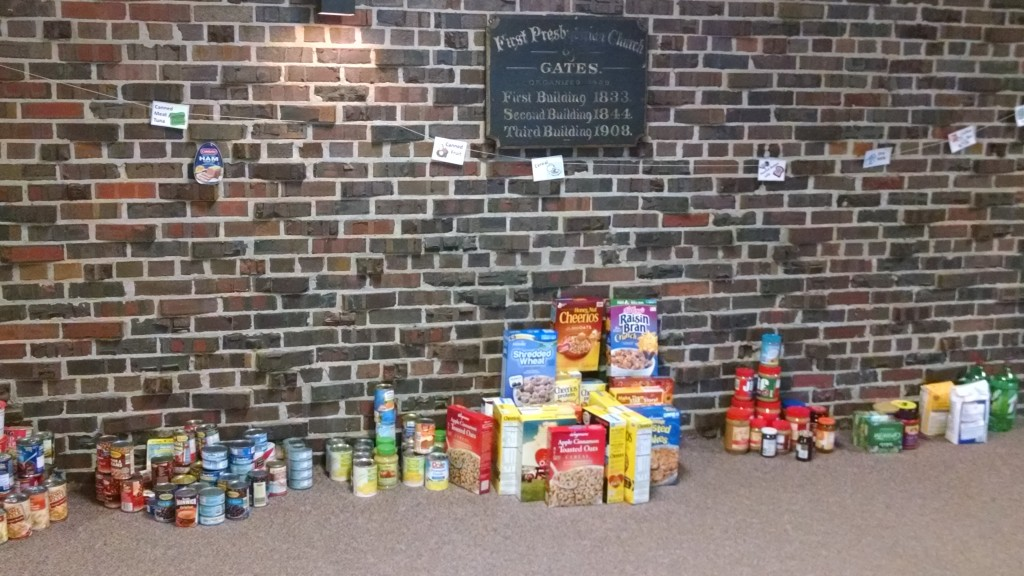 Donations for our SWEM Lenten Wall of Food